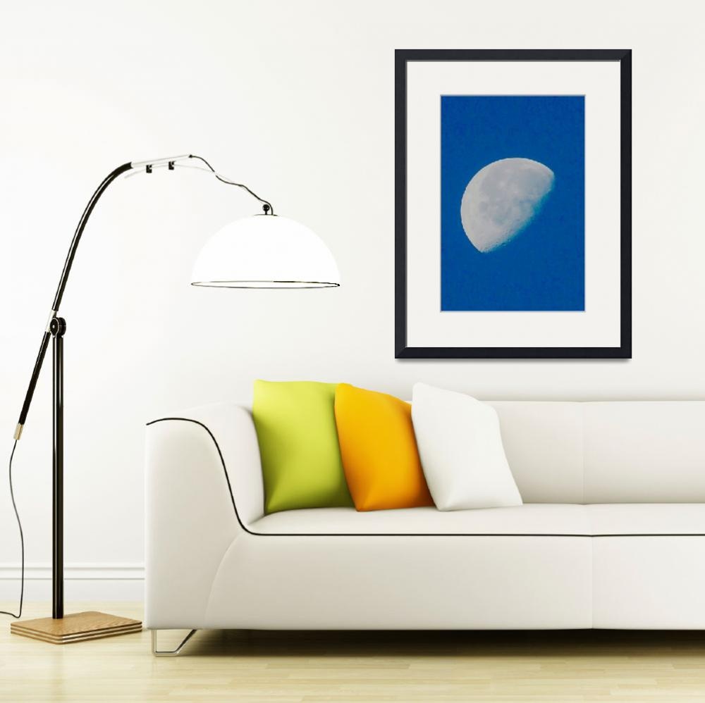 """Morning moon 2011 - Allen Graih Image&quot  (2011) by DelCalsione"