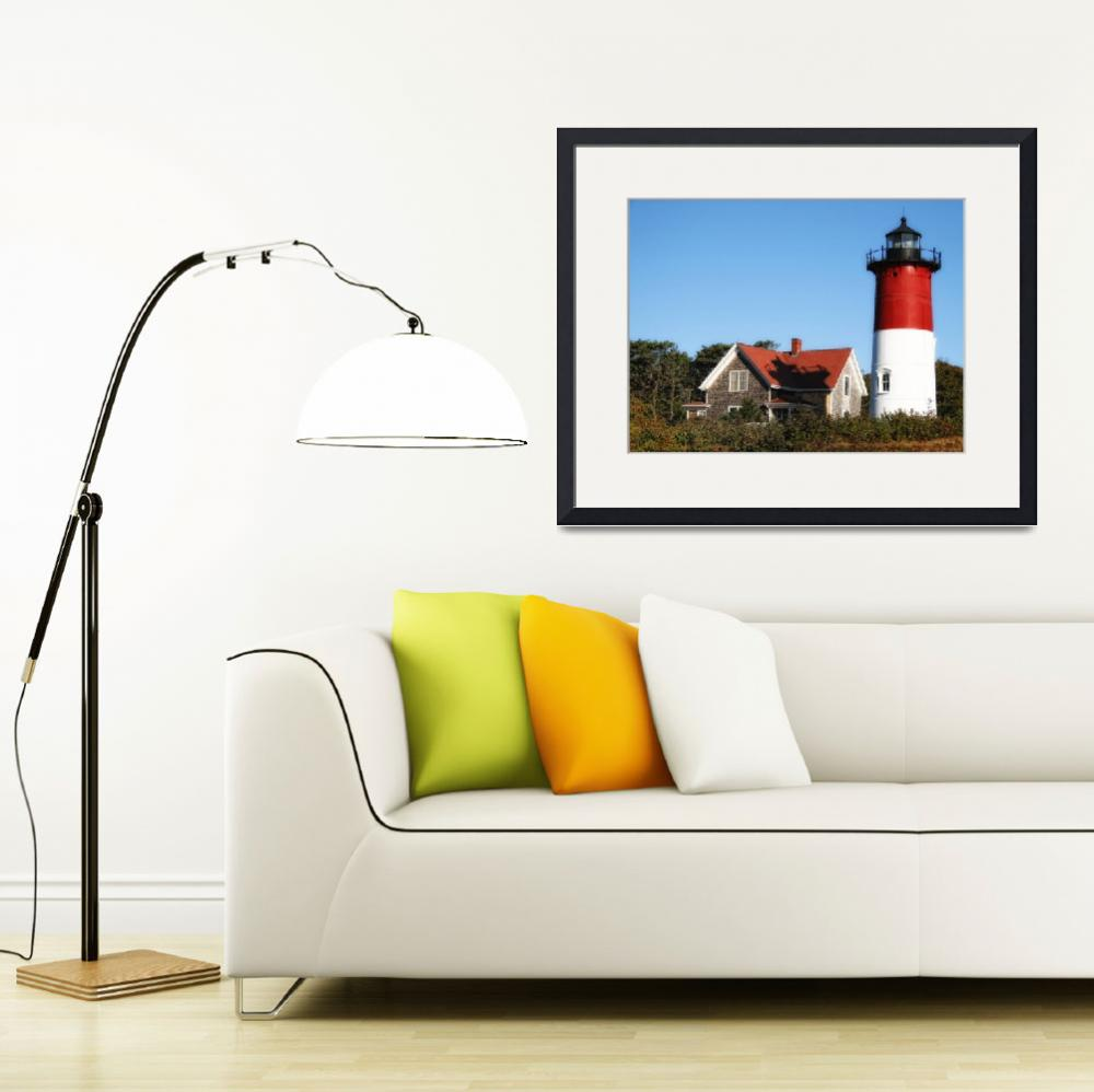 """Nauset Lighthouse&quot  (2008) by ginacormier"
