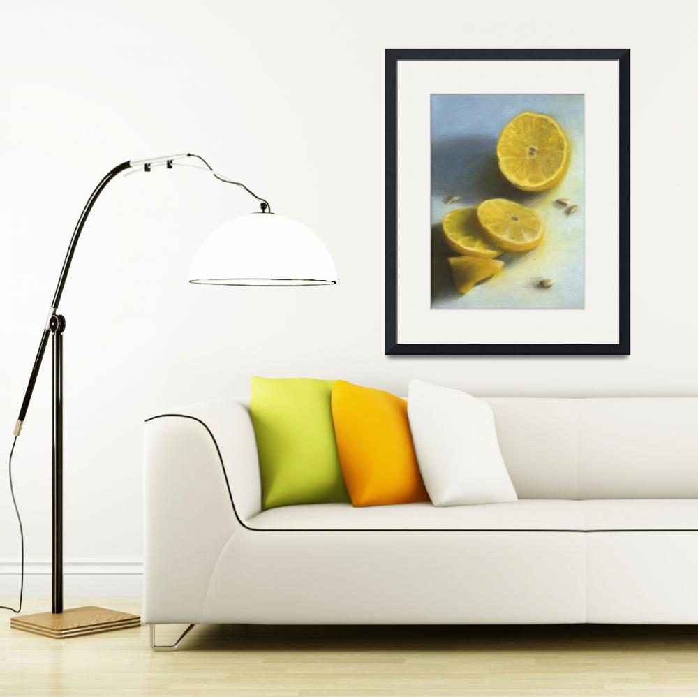 """Lemon, Sliced&quot  (2008) by JoBradney"