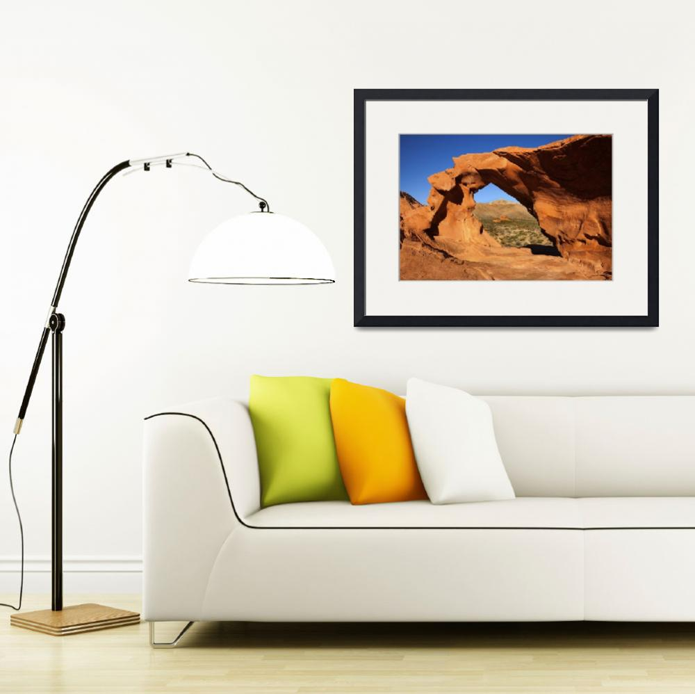 """Red Desert Window&quot  (2010) by Dawsonimages"