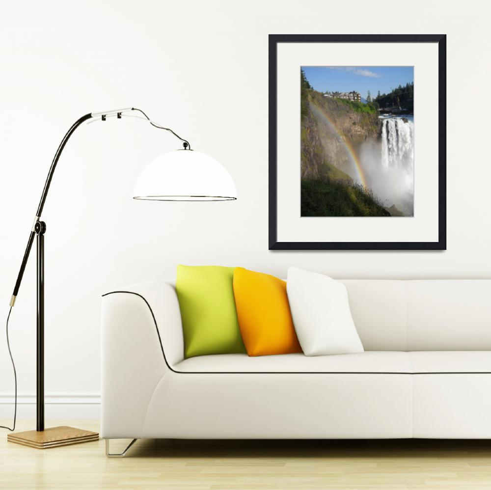"""Snoqualmie Falls&quot  (2012) by MikeCressy"