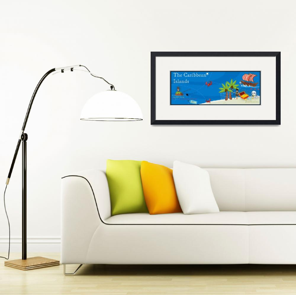 """Barbados by burcu&quot  by TheyDrawandCook"