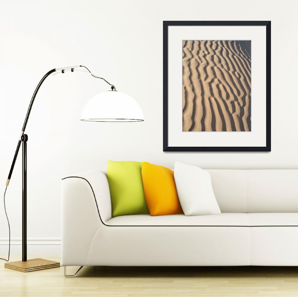 """Sand Formations 1&quot  (2008) by Piamaria_artprints"