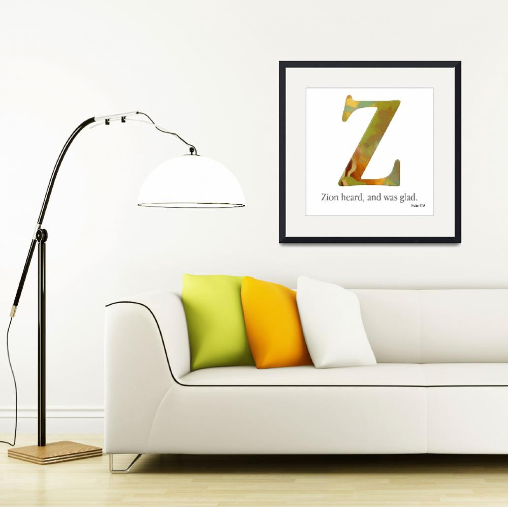 """Z, the Christian Alphabet&quot  (2007) by MarkLawrence"