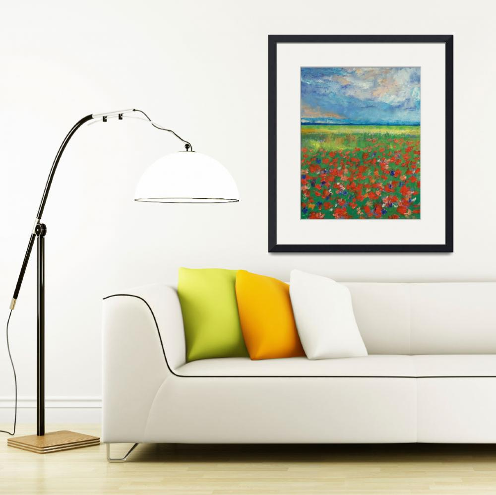 """Poppy Field&quot  by creese"