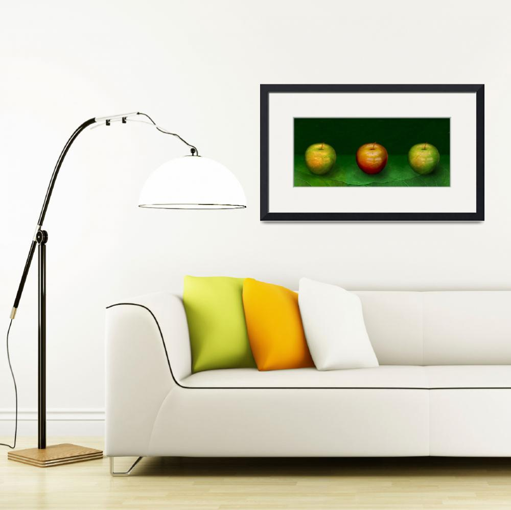 """Three Apples&quot  (2011) by KatyBreen"