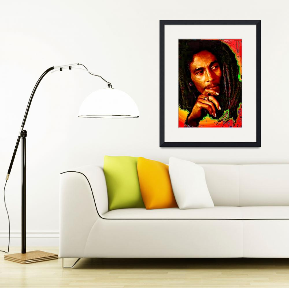 """Bob Marley&quot  (2011) by jt85"