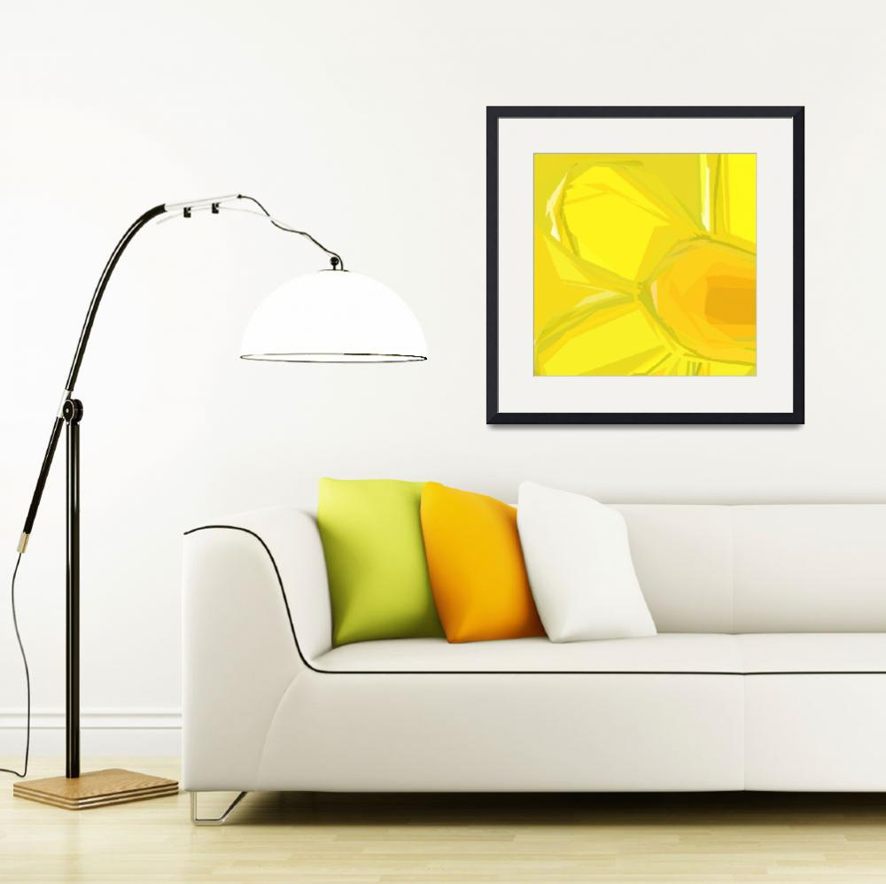 """Daffodil Early Spring&quot  (2010) by MikeCressy"