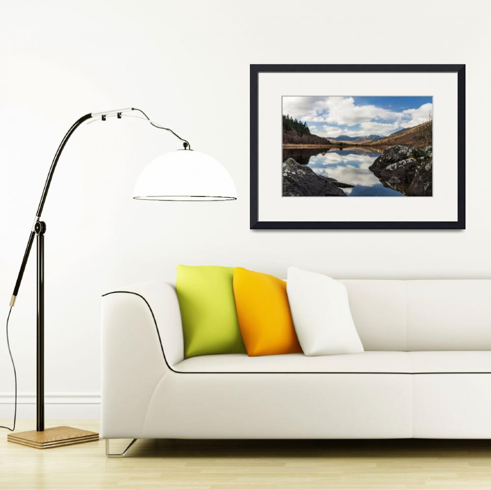 """Llynnau Mymbyr and Snowdon 1&quot  (2017) by captivatingimages"
