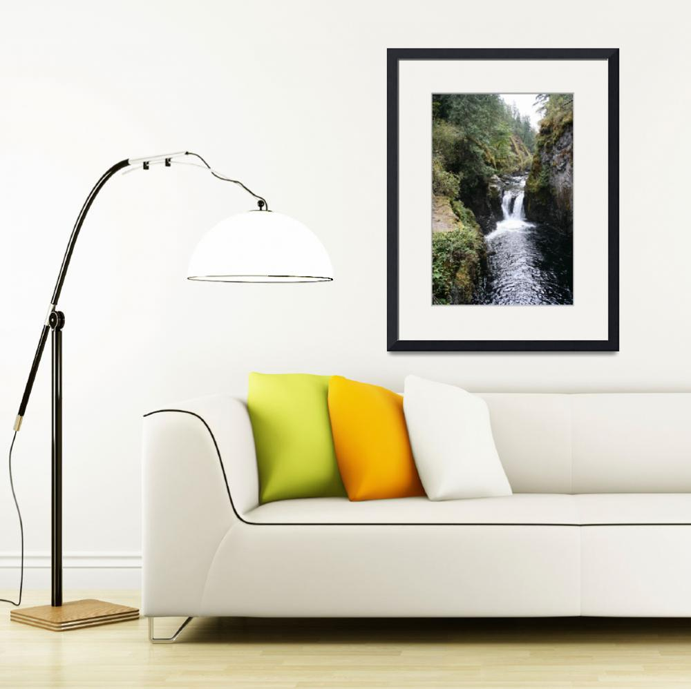 """Englishmen River Waterfalls WF1025&quot  by marygaines"