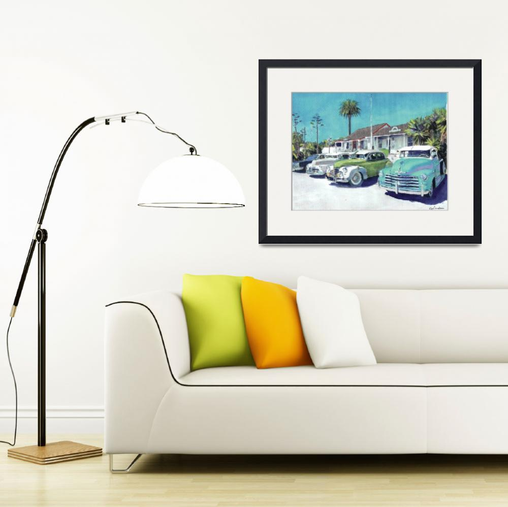 """Romancing Old Town San Diego Avenue&quot  (2011) by BeaconArtWorksCorporation"