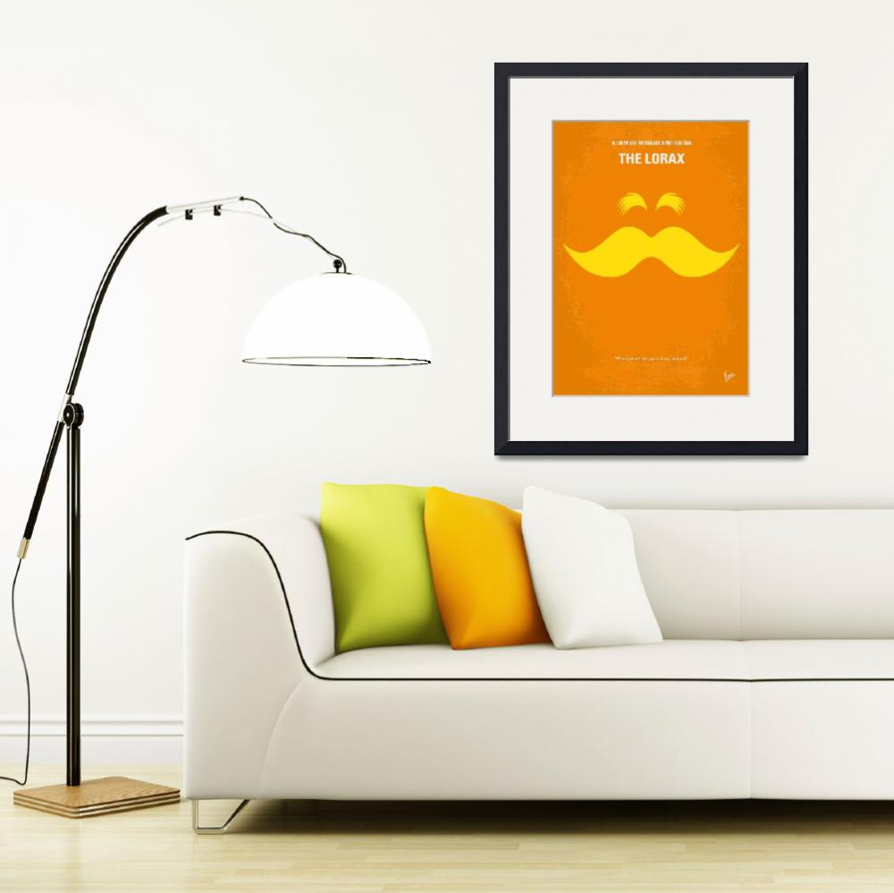 """No261 My THE LORAX minimal movie poster&quot  by Chungkong"
