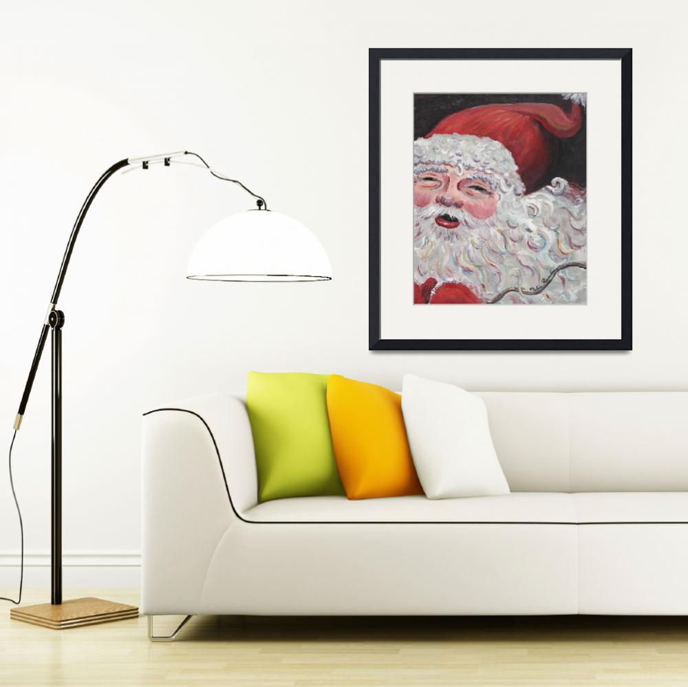 """Santa Claus&quot  (2005) by nadinerippelmeyer"