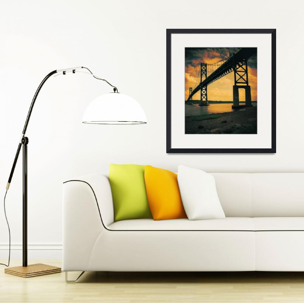 """Mount Hope Bay Bridge&quot  (2008) by lafleurerouge"