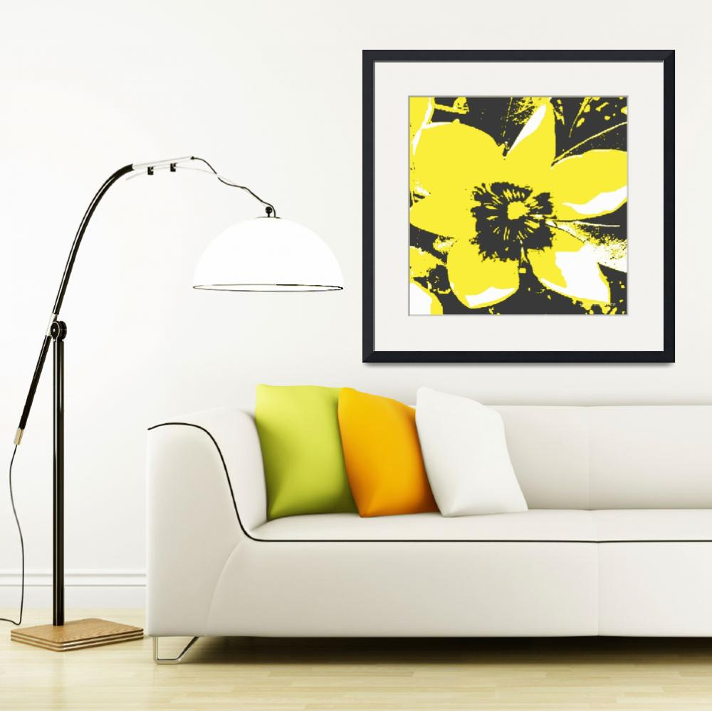 """Blooming Yellow&quot  (2013) by HerbDickinson"