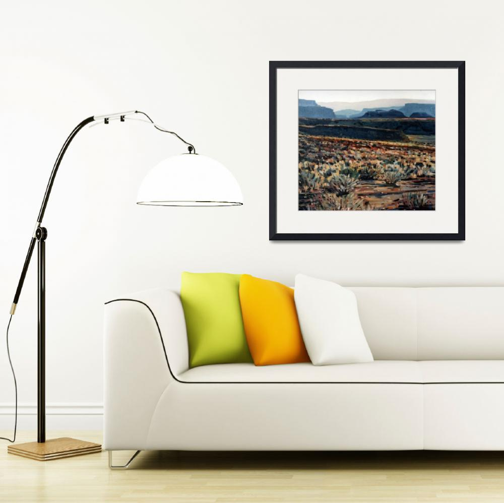 """Canyonlands&quot  (1993) by maiergallery"