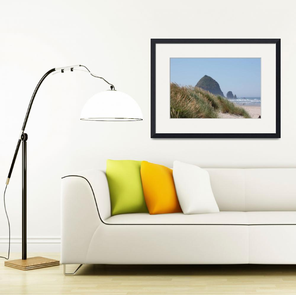 """Haystack Rock&quot  (2011) by TaraEllisPhotography"