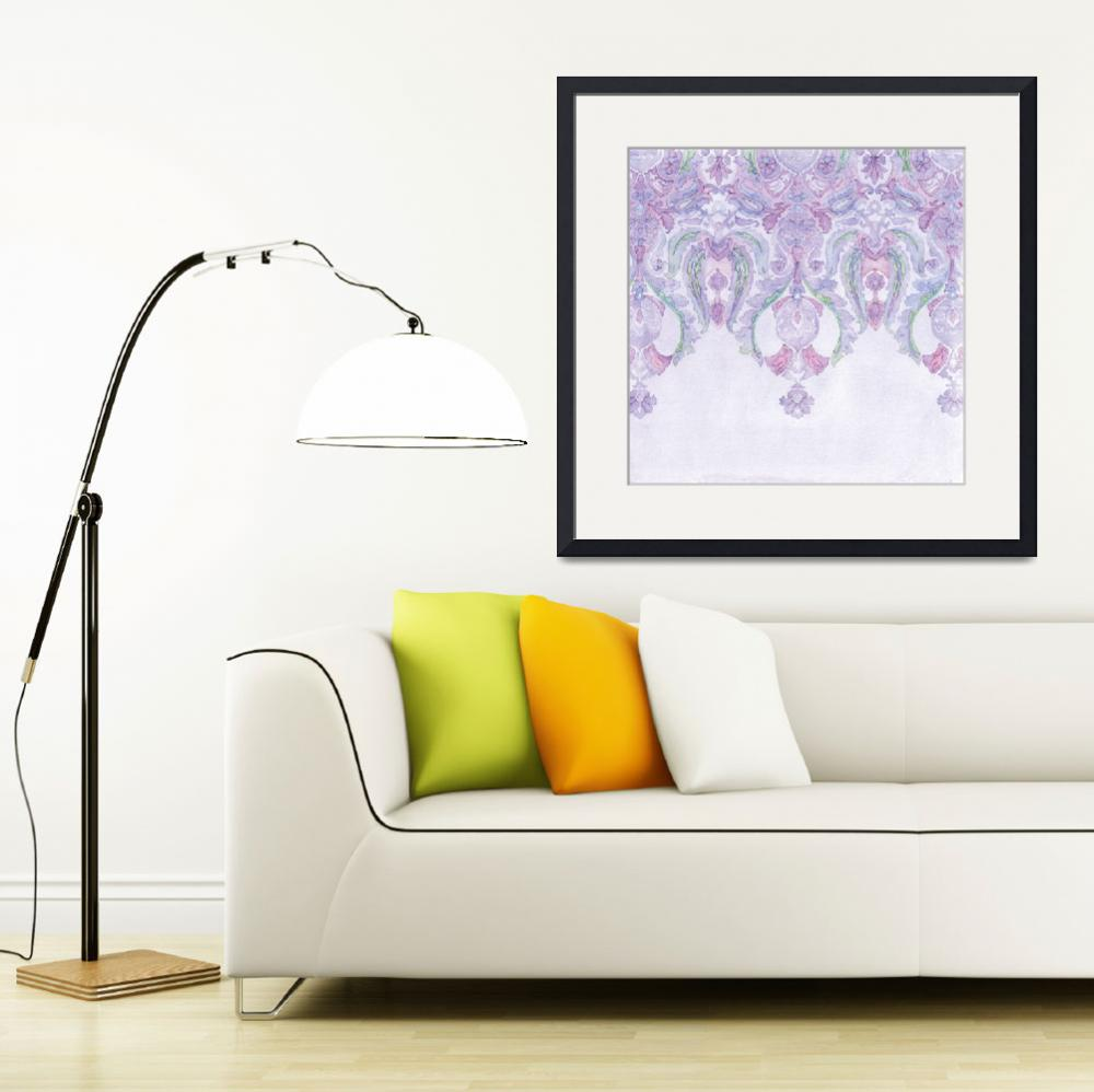 """Andalusia Tapestry in Lavender&quot  (2010) by SarahBond"