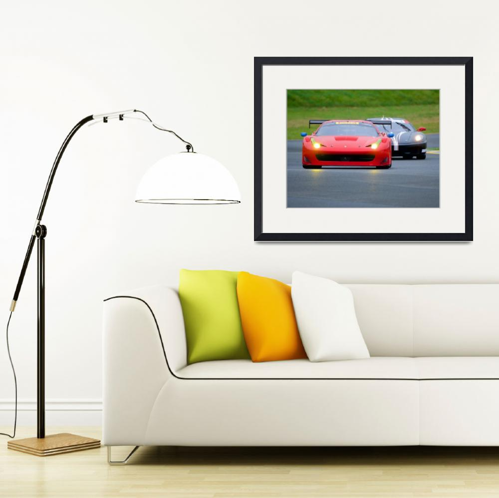 """Ferrari F458 Challenge&quot  by FatKatPhotography"