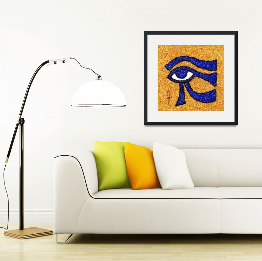 """Eye of Horus - Sun Eye&quot  (2009) by bjasmine"