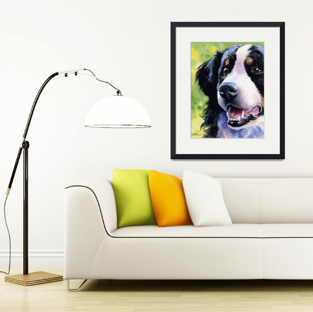 """""Bernese Mountain Dog""&quot  (2015) by k9artgallery"
