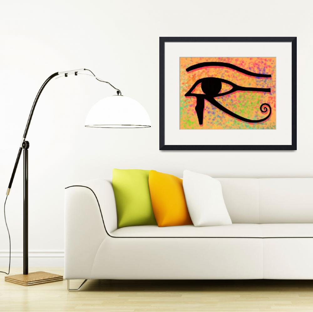 """Eye of Horus&quot  (2013) by Almdrs"