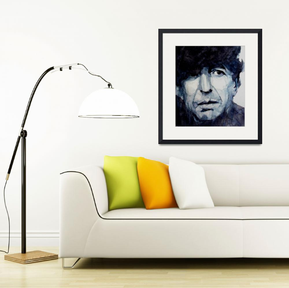 """Leonard Cohen&quot  (2011) by LoveringArts"