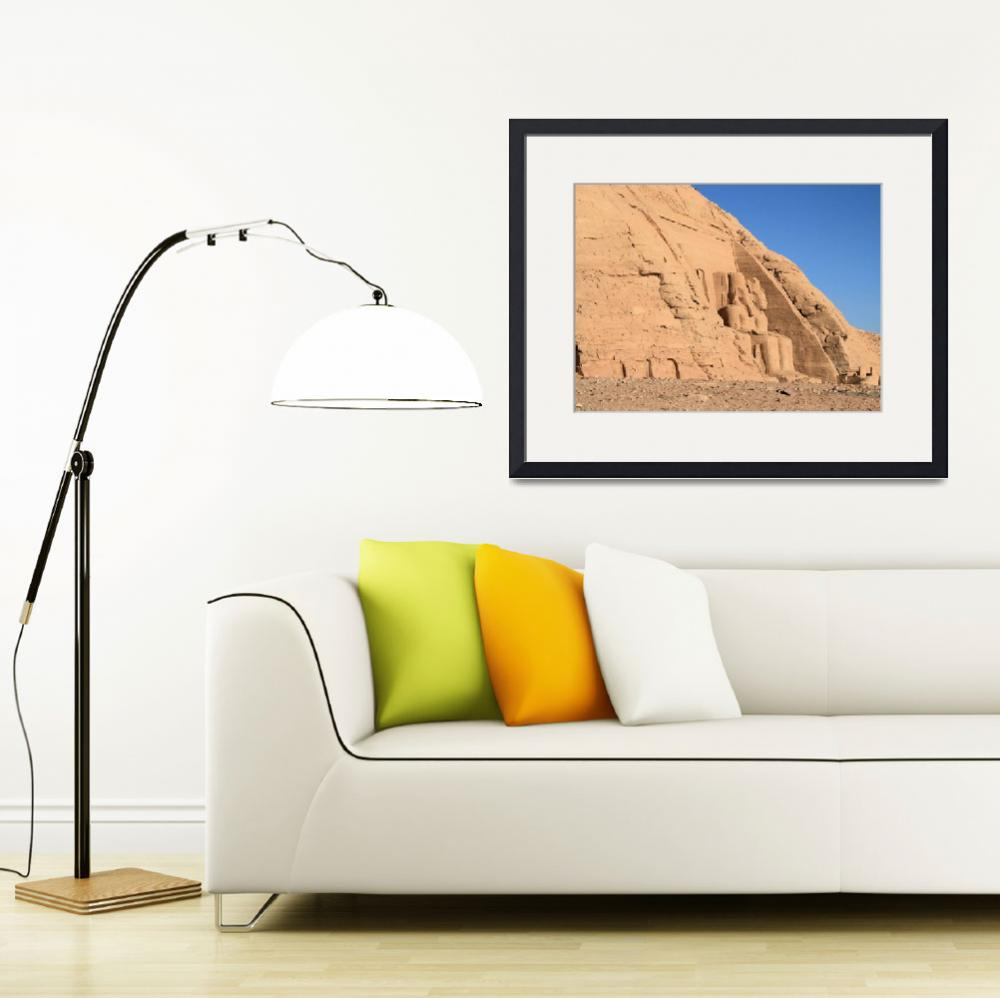 """Abu Simbel Temple&quot  by rhallam"