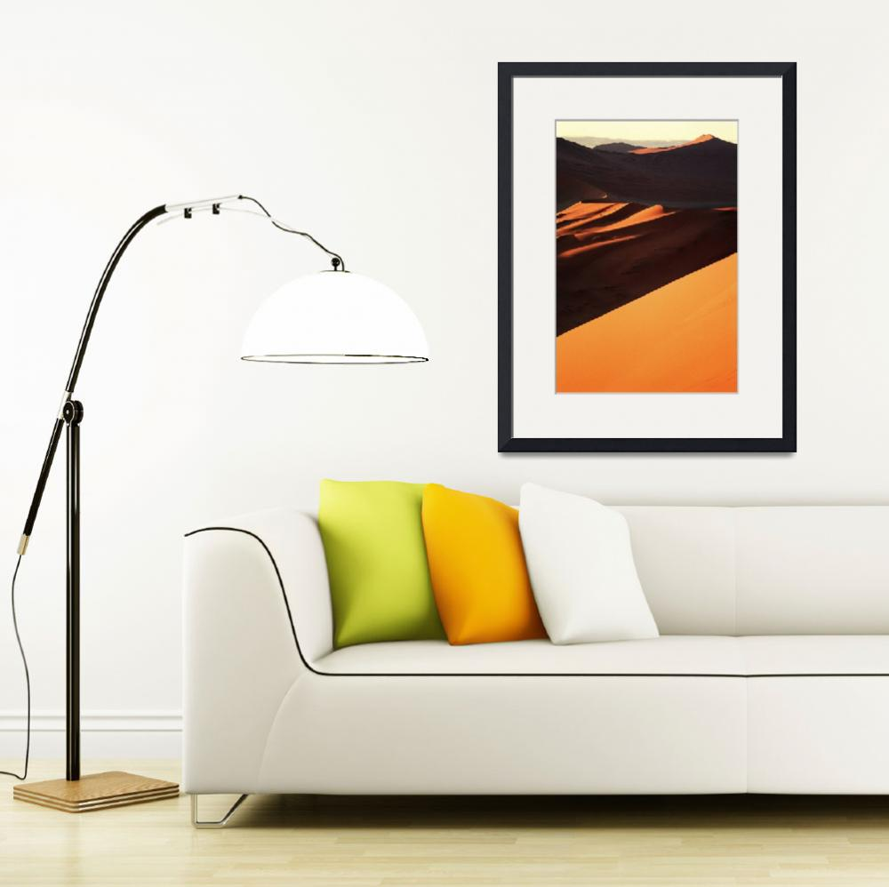 """Orange and Shadow&quot  by johnmacdonald"