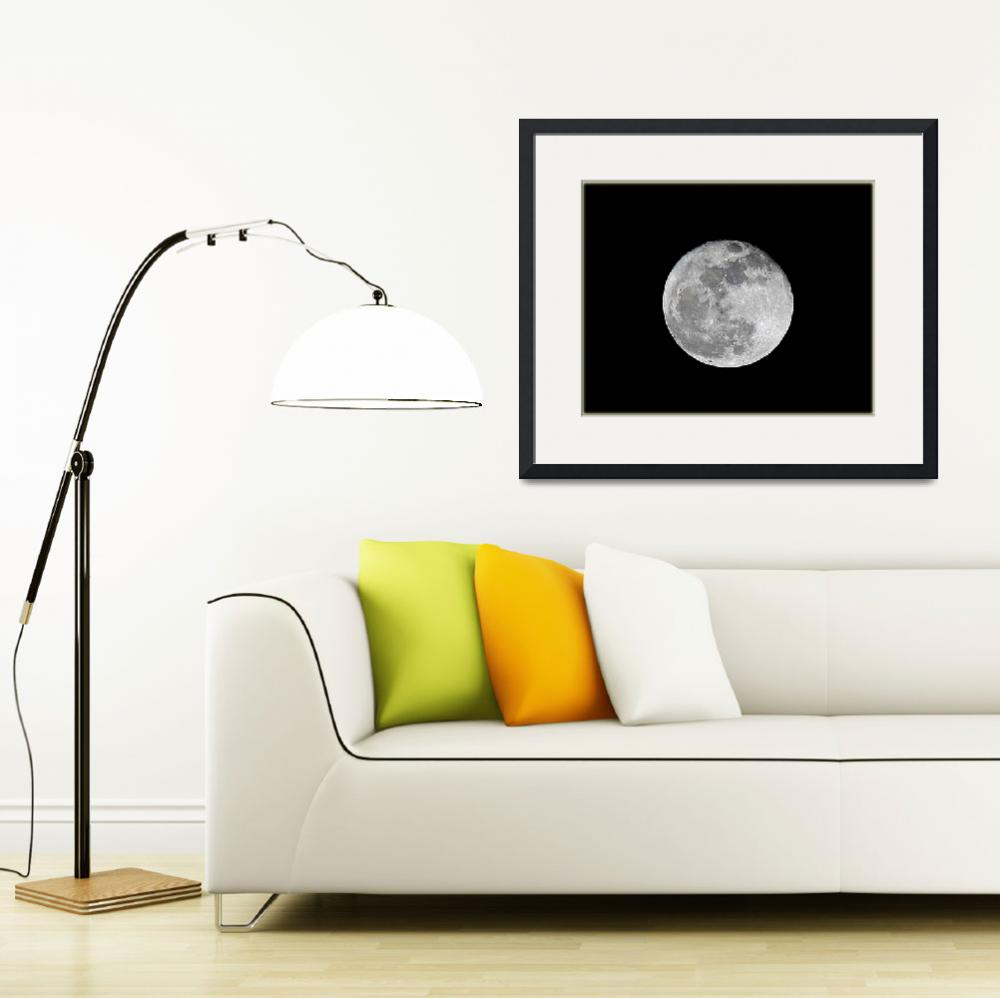 """Shoot the Moon&quot  (2009) by GlendaBorchelt"