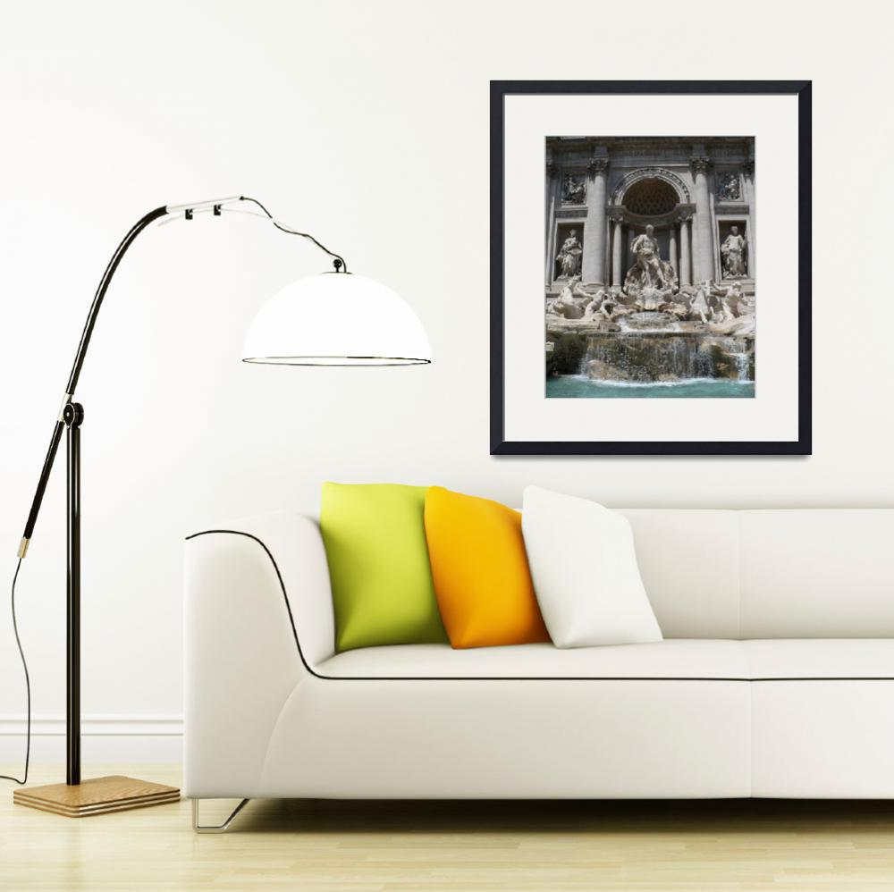 """Trevi Fountain&quot  (2008) by Groecar"