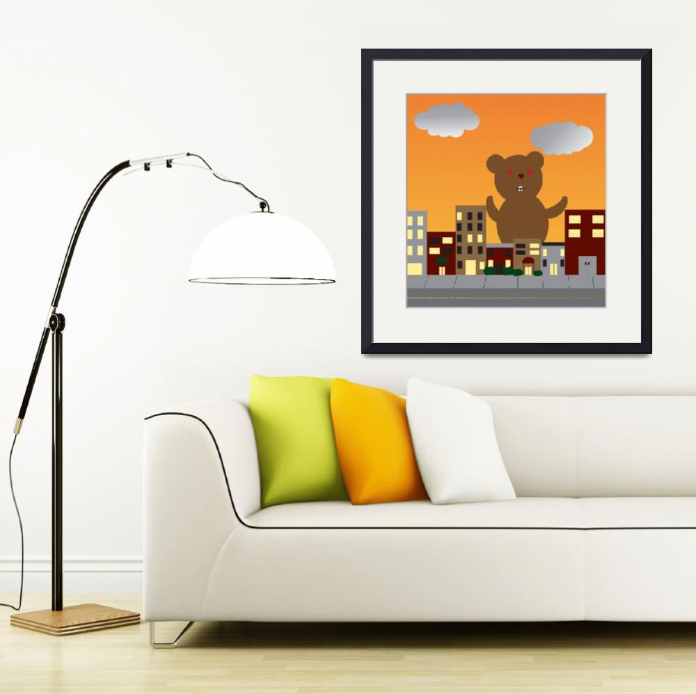 """Monster Bear&quot  (2011) by ValeriesGallery"