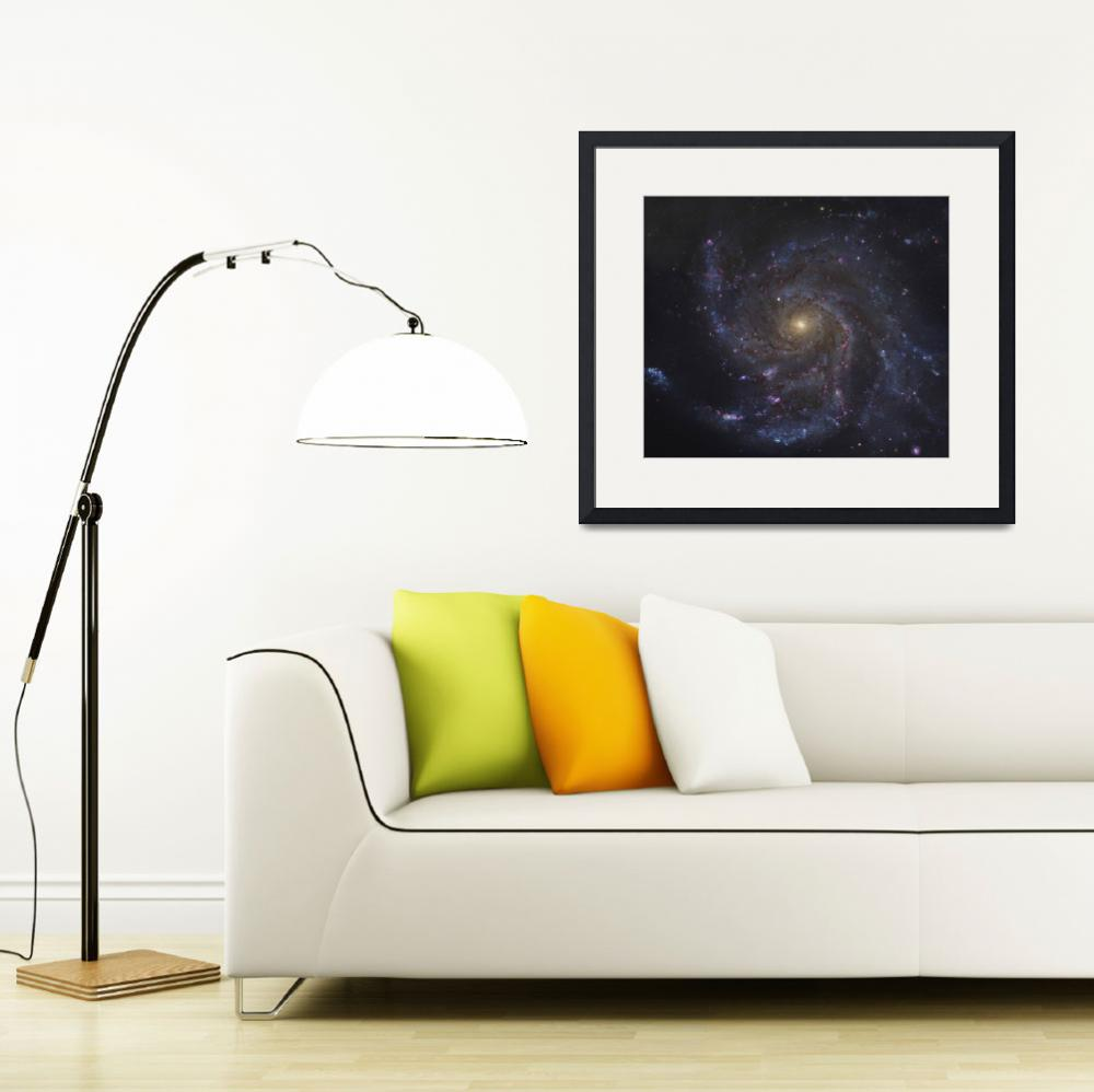 """The Pinwheel Galaxy&quot  by stocktrekimages"