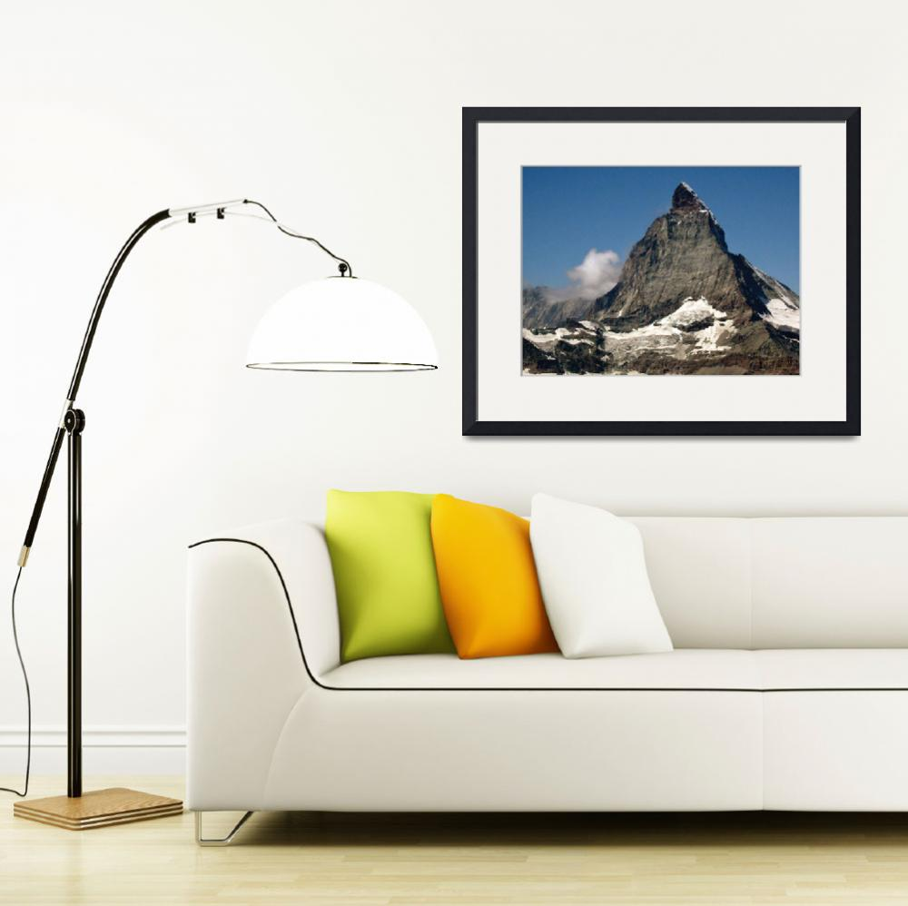 """Matterhorn Zermatt, Switzerland&quot  (2009) by Countryswiss"