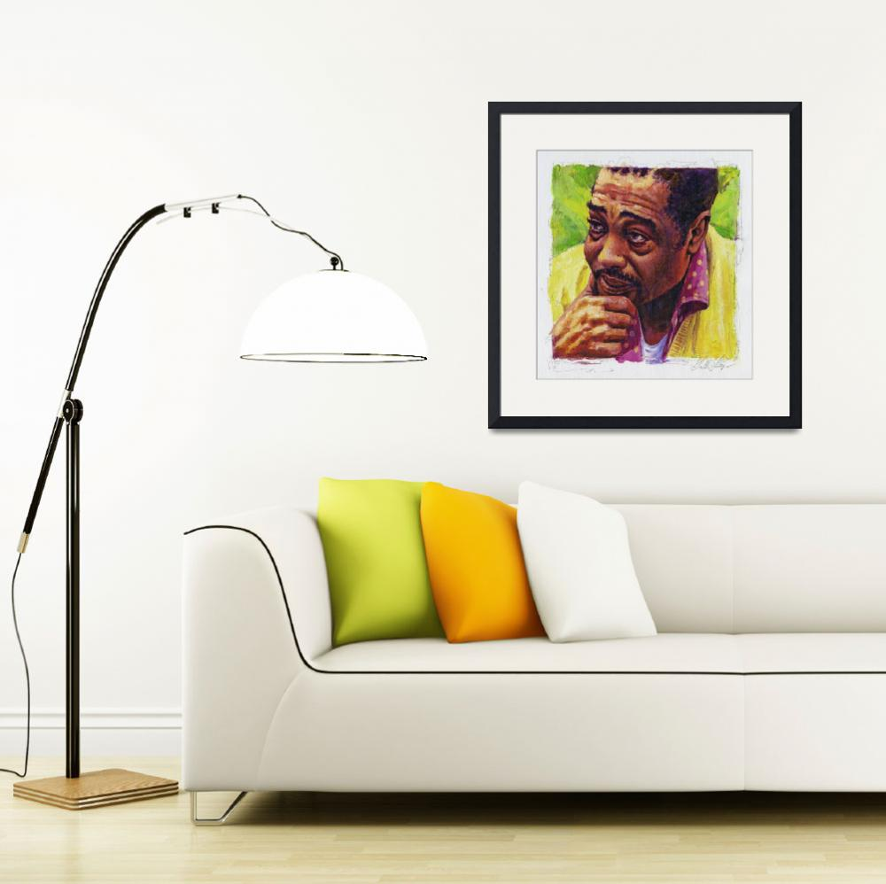 """Duke_Ellington in Yellow and Green&quot  (2008) by garthglazier"