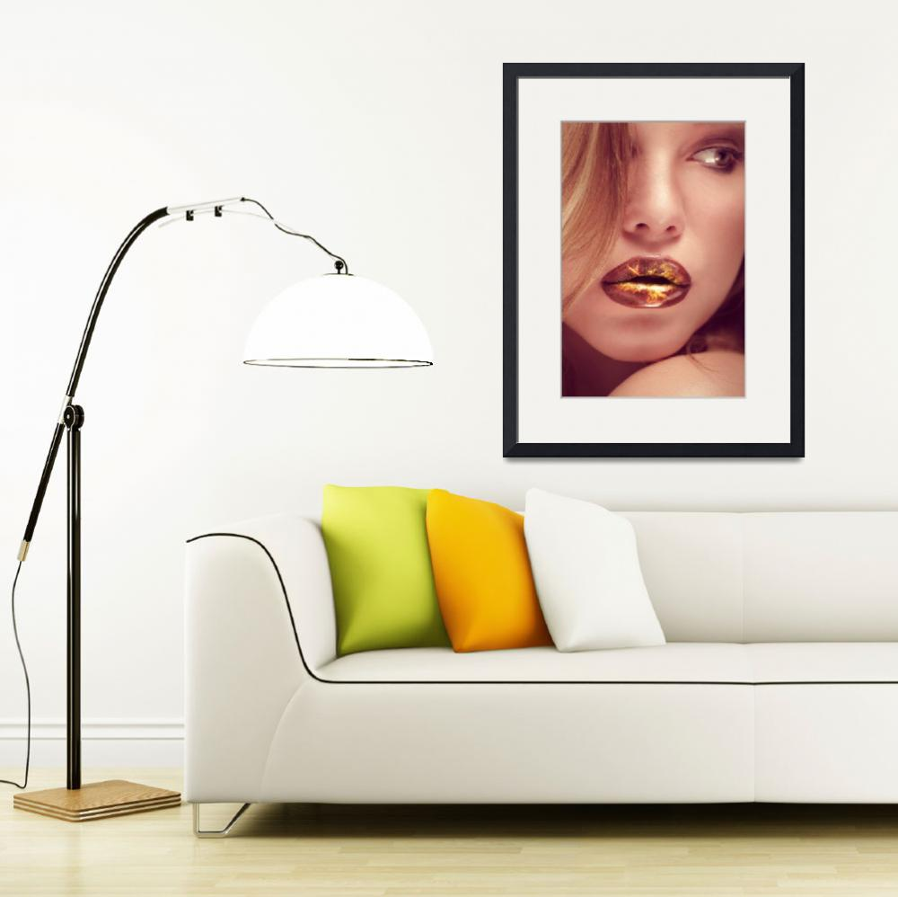 """hot lips&quot  (2012) by photoplace"