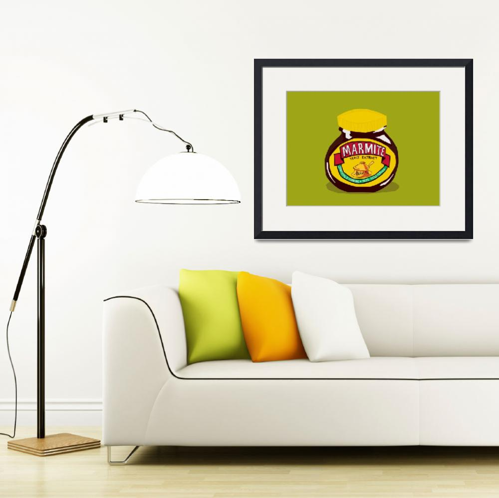 """marmite  - Love it or Hate it&quot  (2009) by roctopus"