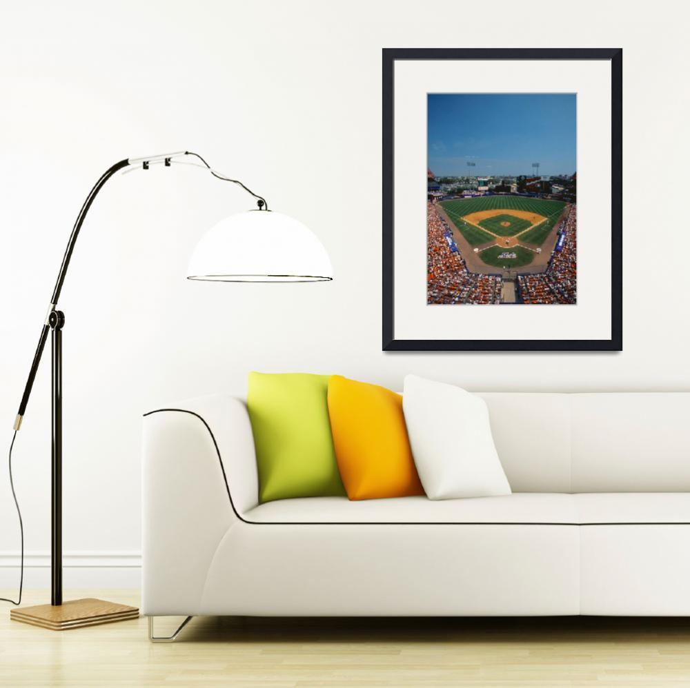 """Mets Game at Shea Stadium&quot  by Panoramic_Images"
