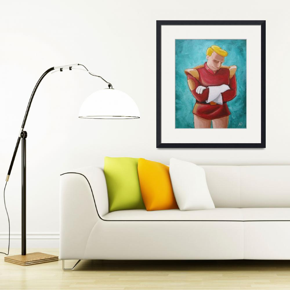 """Contemplative Zapp Brannigan&quot  (2011) by mousersix"