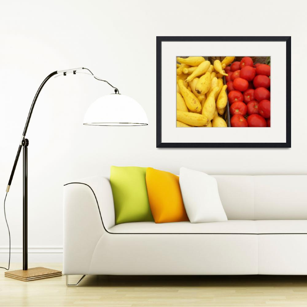 """Squash and Tomatoes&quot  by mcarvinphoto"