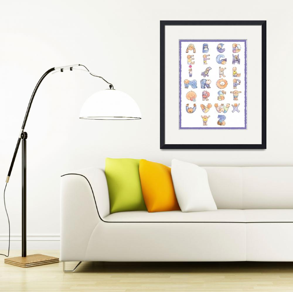 """Baby Poster full size&quot  by ShelleyDieterichs"