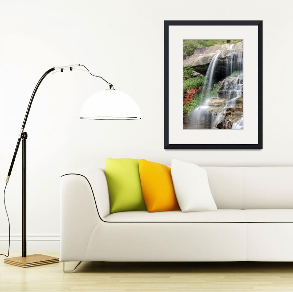 """Brandywine Falls&quot  (2010) by WendyAmbersonImages"