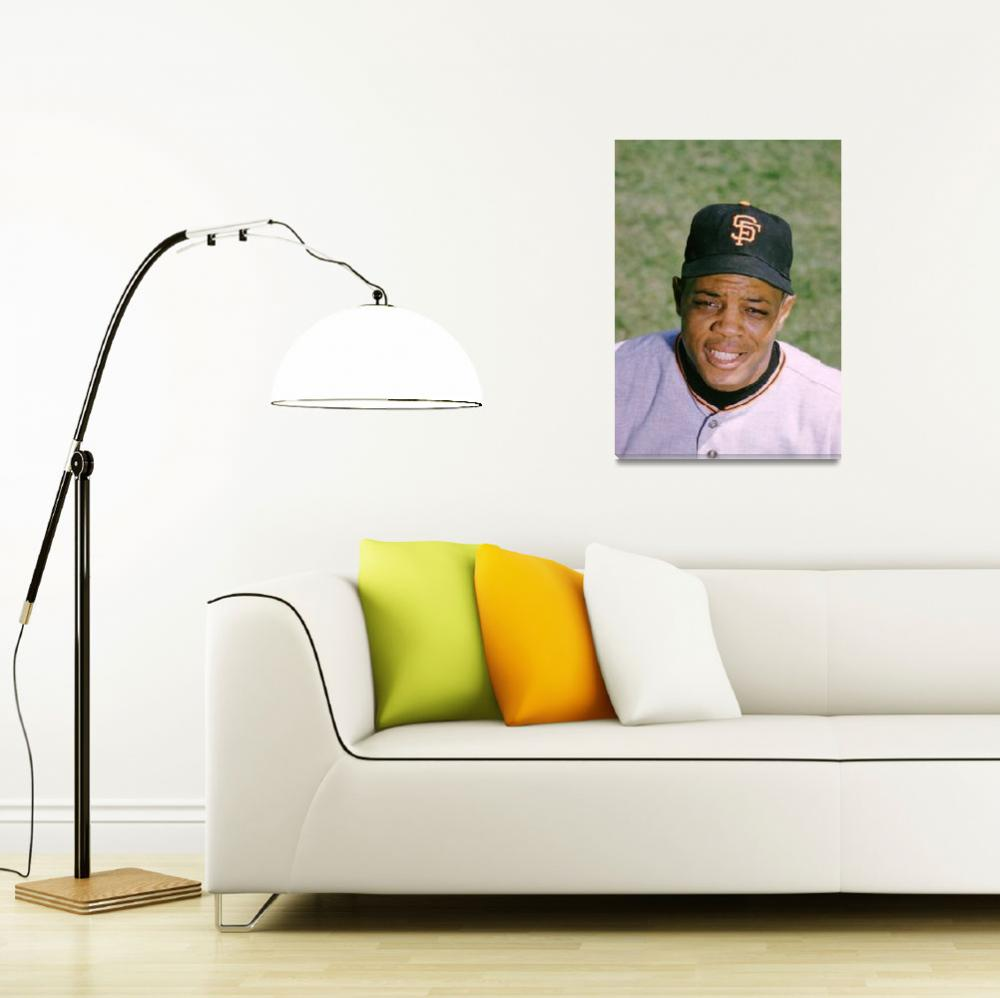 """The Great Willie Mays&quot  by RetroImagesArchive"
