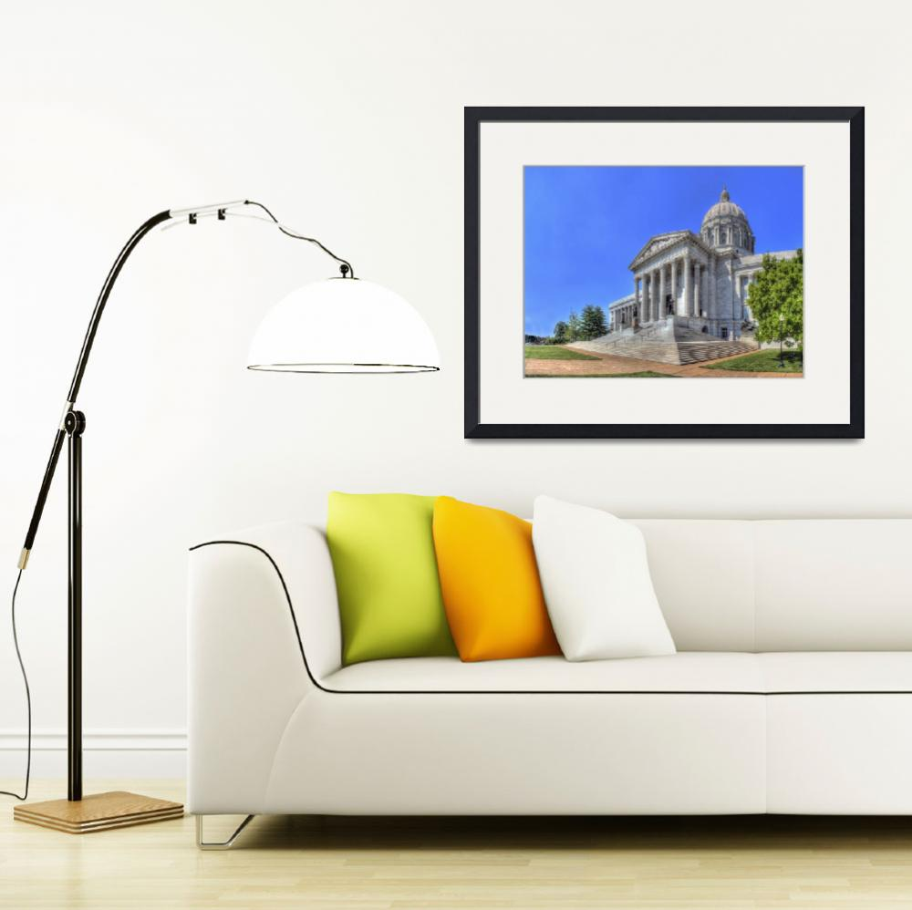 """Missouri State Capitol&quot  by North22Gallery"