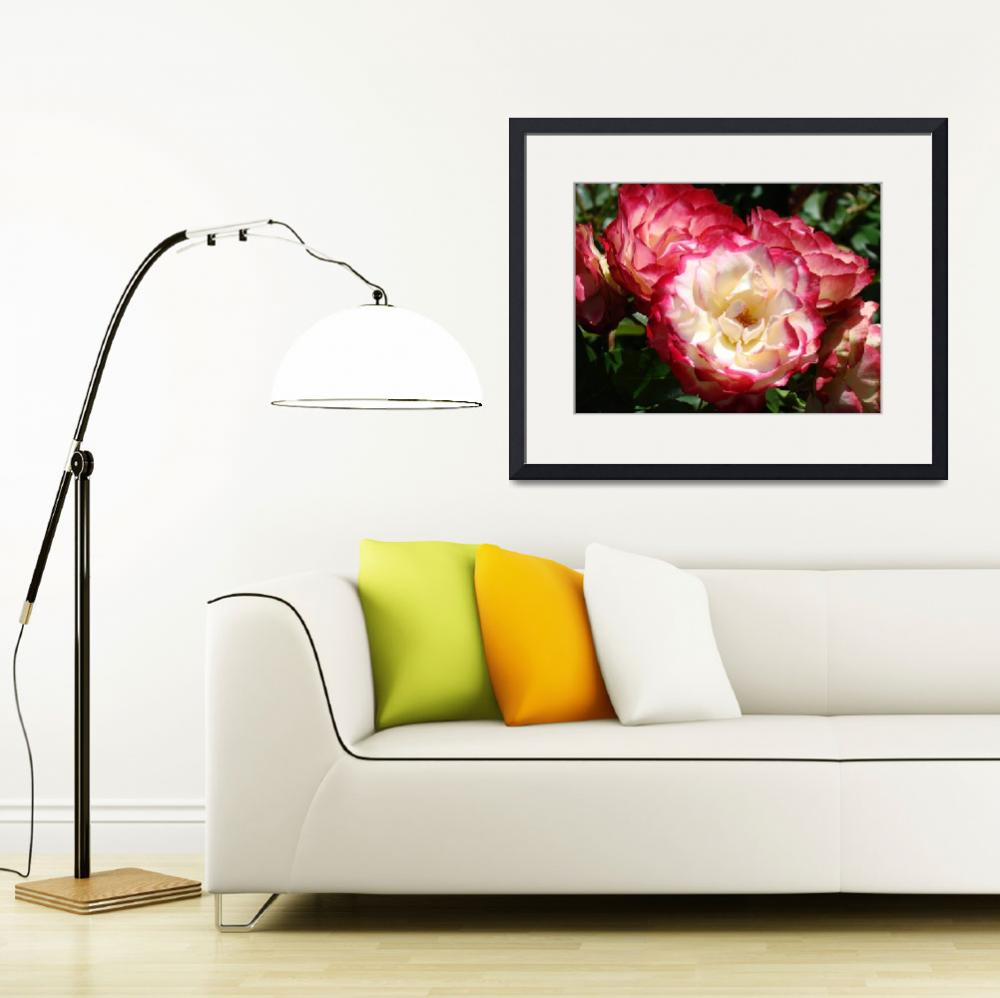 """Floral Rose Garden art prints Roses Baslee&quot  (2010) by BasleeTroutman"