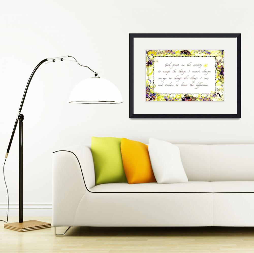 """serenity frame yellow purple&quot  by lizmix"