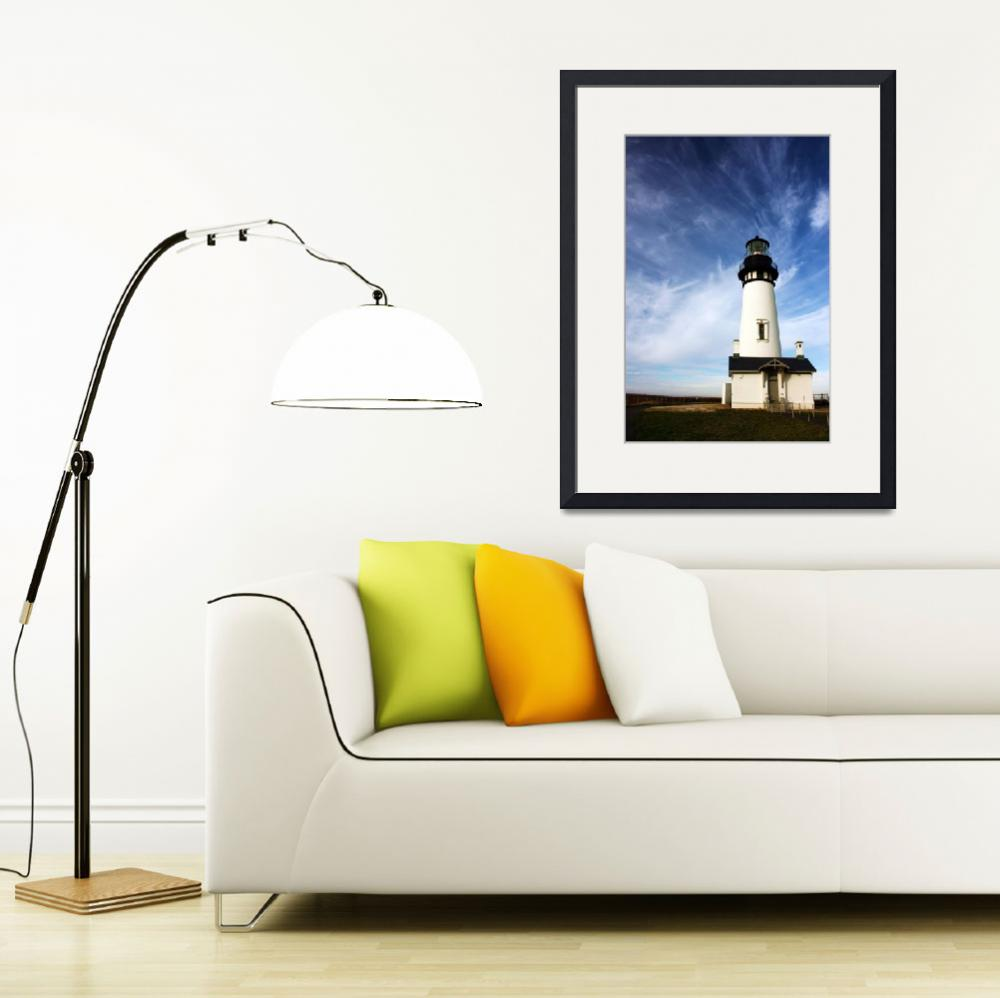 """Yaquina Head lighthouse&quot  (2008) by PhotosbyTerrell"