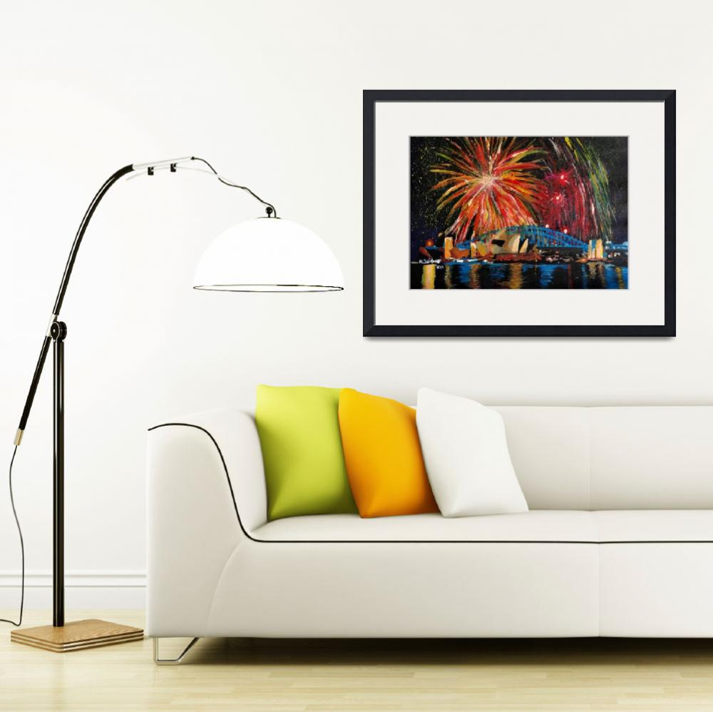 """Sydney Firework at Opera House&quot  (2014) by arthop77"