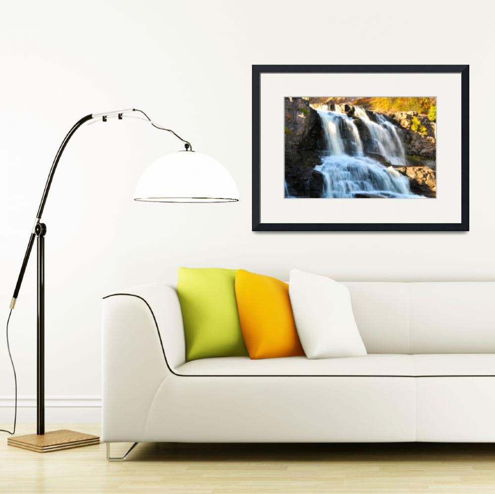"""Gooseberry Falls&quot  (2013) by LJdesigns"