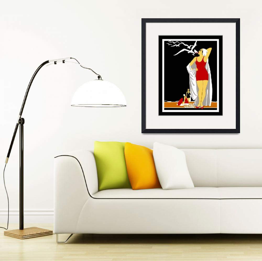 """New York Vintage Travel Poster (3)&quot  by shanmaree"